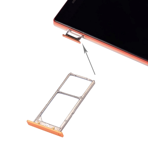 Buy iPartsBuy Lenovo VIBE X2 / X2-TO SIM Card Tray, Gold for $2.66 in SUNSKY store