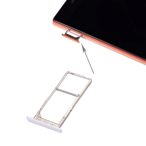 iPartsBuy Lenovo VIBE X2 / X2-TO SIM Card Tray, White