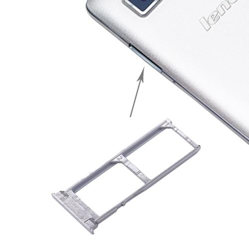 Buy iPartsBuy Lenovo VIBE Z / K910 SIM Card Tray, Silver for $2.66 in SUNSKY store