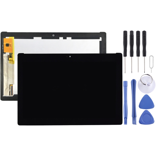 LCD Screen and Digitizer Full Assembly for Asus ZenPad 10 Z300M / P021 (Yellow Flex Cable Version) (Black)