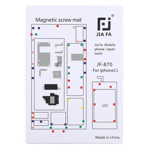 JIAFA JF-870 Magnetic Pad Screw Board for iPhone 11 фото