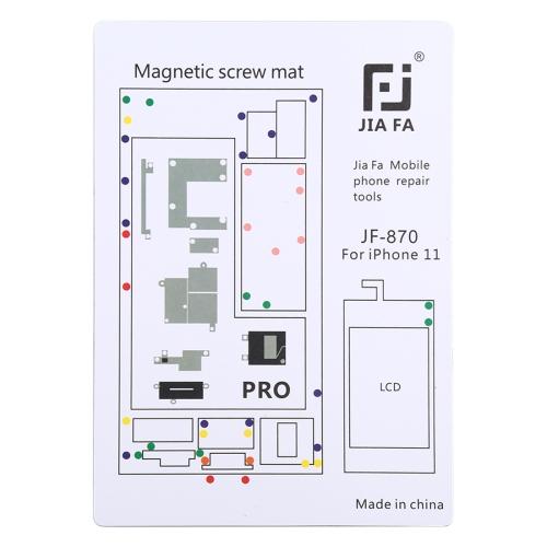 JIAFA JF-870 Magnetic Pad Screw Board for iPhone 11 Pro фото