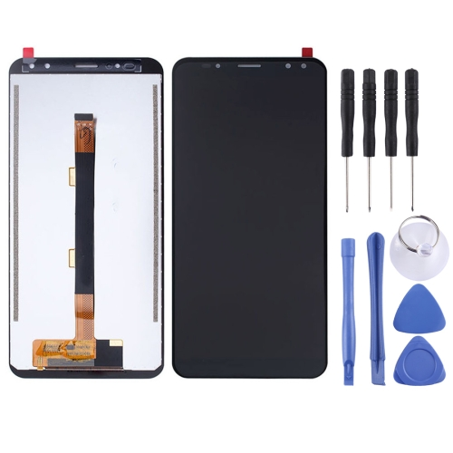 LCD Screen and Digitizer Full Assembly for Ulefone Power 3s(Black)