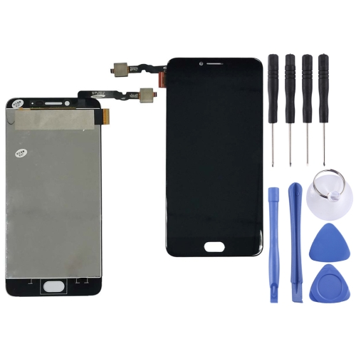 LCD Screen and Digitizer Full Assembly for UMIDIGI C NOTE(Black)