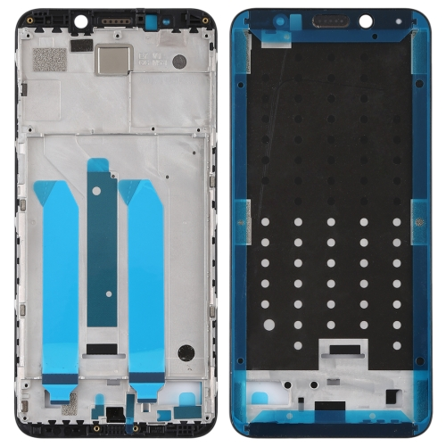 Front Housing LCD Frame Bezel for Xiaomi Redmi 5 Plus(Black)