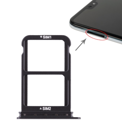 SIM Card Tray + SIM Card Tray for Huawei P20 Pro (Black) 100pcs opener ejector sim card tray tool open eject pin for mobile phone