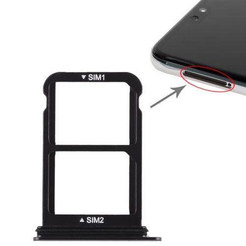 SIM Card Tray + SIM Card Tray for Huawei P20 (Black)