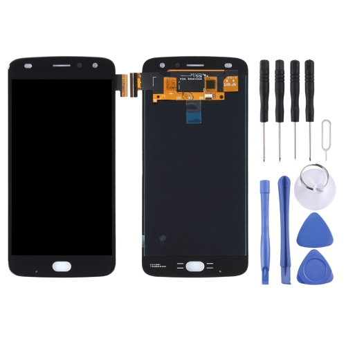 LCD Screen and Digitizer Full Assembly for Motorola Moto Z2 Play(Black)