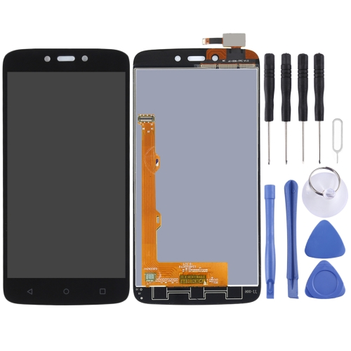 for Motorola Moto C Plus LCD Screen and Digitizer Full Assembly(Black)
