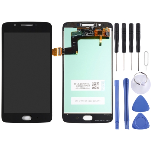 LCD Screen and Digitizer Full Assembly for Motorola Moto G5(Black)