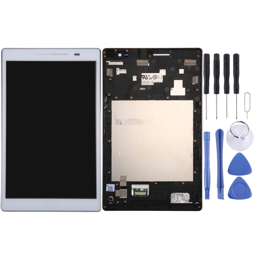 LCD Screen and Digitizer Full Assembly with Frame for ASUS ZenPad 8.0 / Z380C / Z380CX / P022 (White)