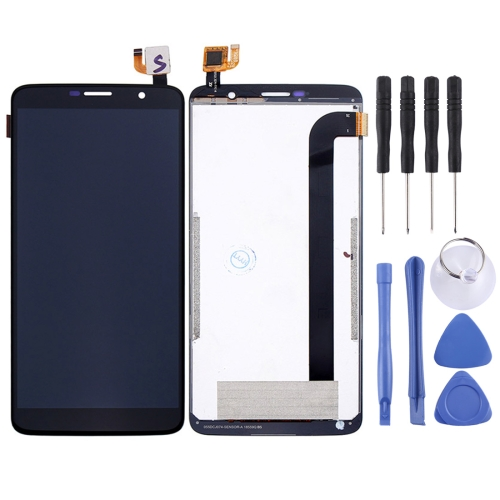 LCD Screen and Digitizer Full Assembly for HOMTOM S7 (Black)