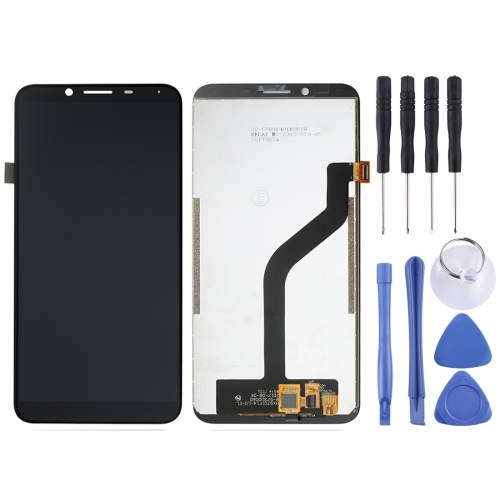 LCD Screen and Digitizer Full Assembly for HOMTOM S8 (Black)