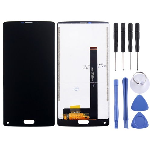 LCD Screen and Digitizer Full Assembly for HOMTOM S9 Plus (Black)