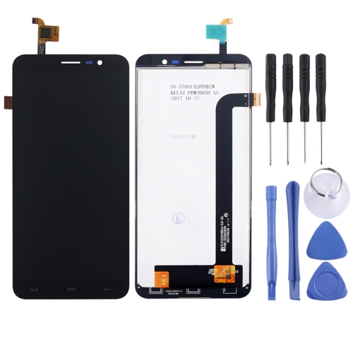 LCD Screen and Digitizer Full Assembly for HOMTOM S16 (Black)