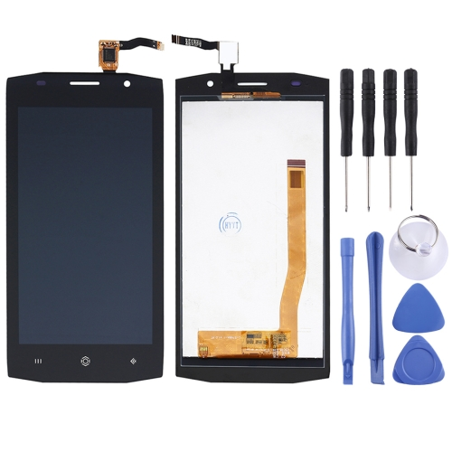 LCD Screen and Digitizer Full Assembly for HOMTOM ZOJI Z6 (Black)