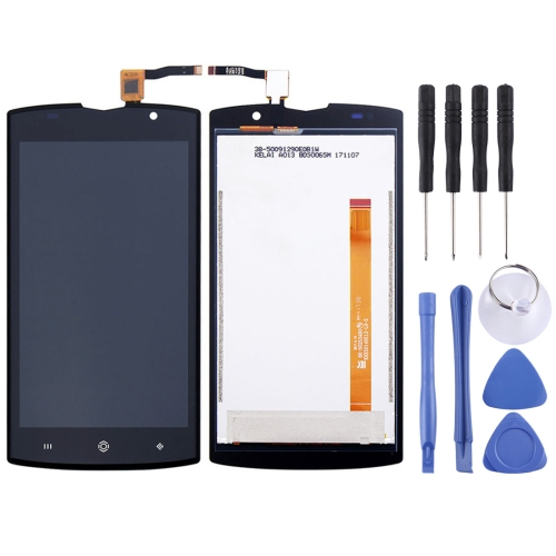 LCD Screen and Digitizer Full Assembly for HOMTOM ZOJI Z7 (Black)