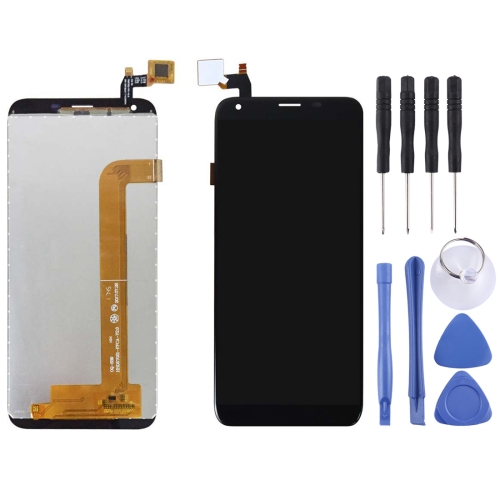 LCD Screen and Digitizer Full Assembly for OUKITEL K5(Black)