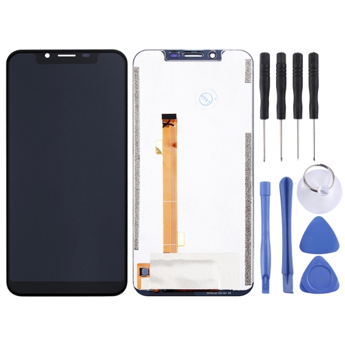 LCD Screen and Digitizer Full Assembly for OUKITEL U18 (Black)