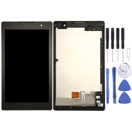 LCD Screen and Digitizer Full Assembly with Frame for ASUS ZenPad C 7.0 / Z170C (Black)
