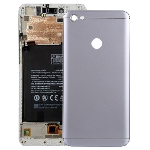 Back Cover with Side Keys for Xiaomi Redmi Note 5A Prime(Grey)