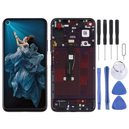 LCD Screen and Digitizer Full Assembly with Frame for Huawei Honor 20 Pro (Black)  - buy with discount