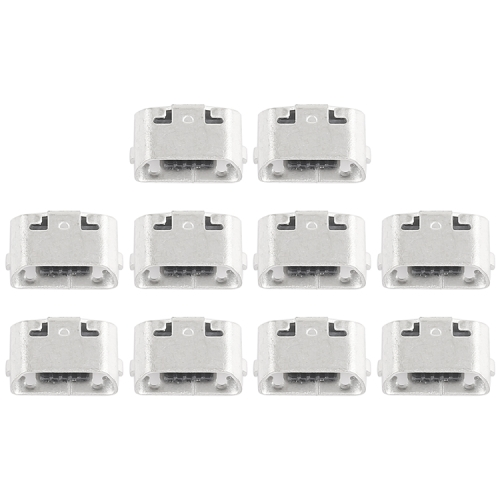 10 PCS Charging Port Connector for Meizu MX4 / MX4 Pro / Meilan Metal