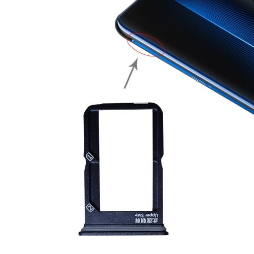 SUNSKY - SIM Card Tray + SIM Card Tray for Vivo iQOO (Black)