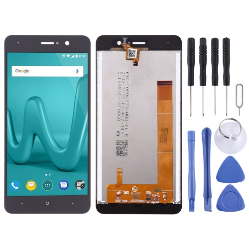 LCD Screen and Digitizer Full Assembly for Wiko Lenny 4(Black)