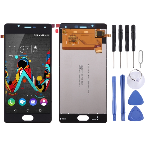 LCD Screen and Digitizer Full Assembly for Wiko U Feel