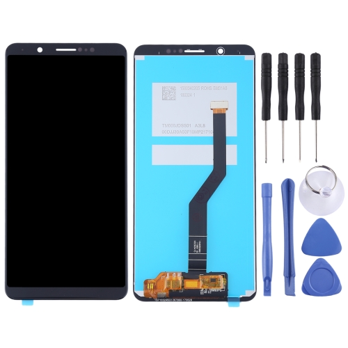 LCD Screen and Digitizer Full Assembly for Vivo Y79 / V7 Plus(Black)