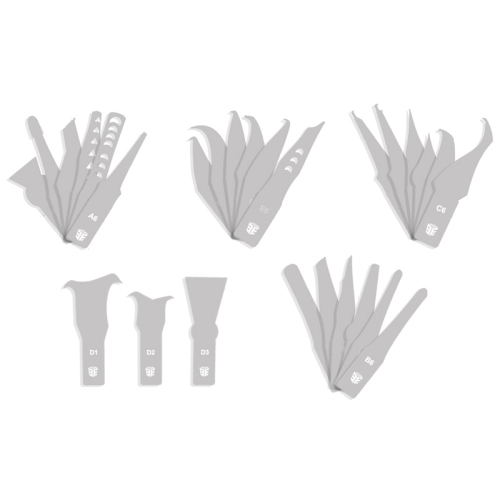 BEST-69A 27 PCS/Set Cutting Knife CPU Repairing tools