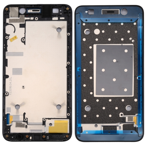 Huawei Y6 / Honor 4A Front Housing LCD Frame Bezel Plate(Black)