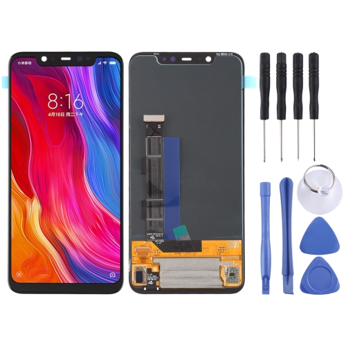 LCD Screen and Digitizer Full Assembly for Xiaomi Mi 8(Black)