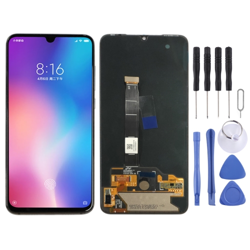 OLED Material LCD Screen and Digitizer Full Assembly for Xiaomi Mi 9(Black)