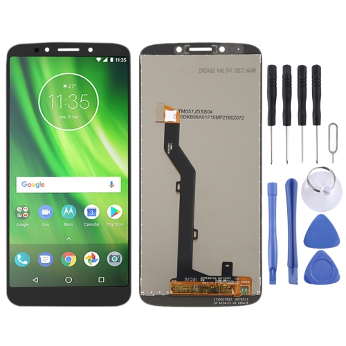 LCD Screen and Digitizer Full Assembly for Motorola Moto G6 Play (Black)