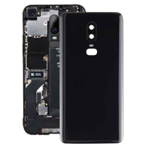 Battery Back Cover for OnePlus 6(Black)