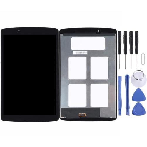 for LG G Pad F 8.0 / V495 / V496 LCD Screen and Digitizer Full Assembly(Black)