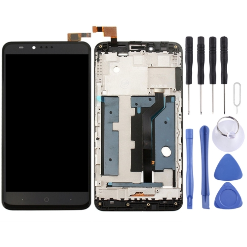ZTE ZMax Pro / Z981 LCD Screen and Digitizer Full Assembly with Frame(Black)