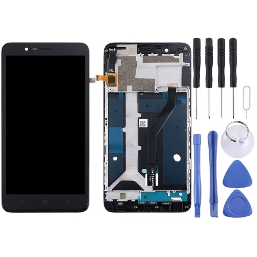 ZTE Blade Z Max / Z982 LCD Screen and Digitizer Full Assembly with Frame(Black)