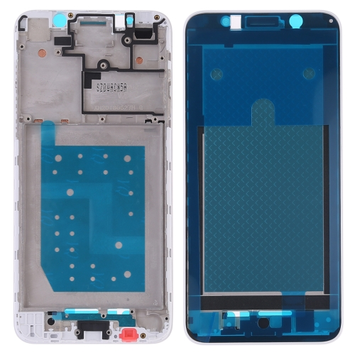 Front Housing LCD Frame Bezel Plate for Huawei Y5 Prime (2018)(White)