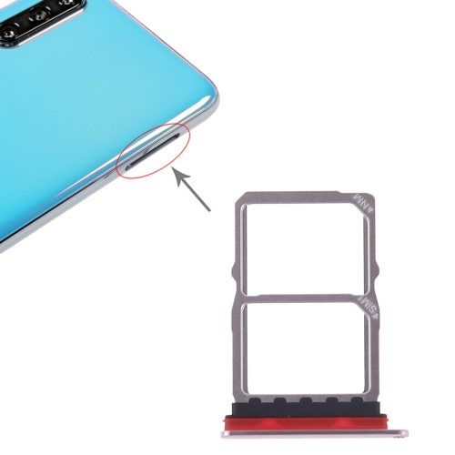 SIM Card Tray + NM Card Tray for Huawei P30 (Pink)