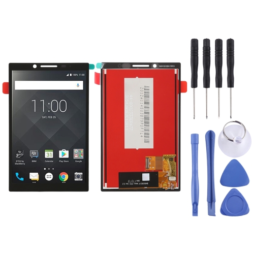LCD Screen and Digitizer Full Assembly for BlackBerry KEY 2 (Black)