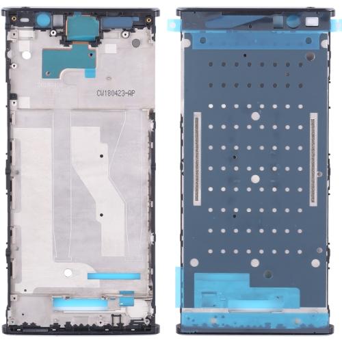 Front Housing LCD Frame Bezel for Sony Xperia XA2 Plus(Black)