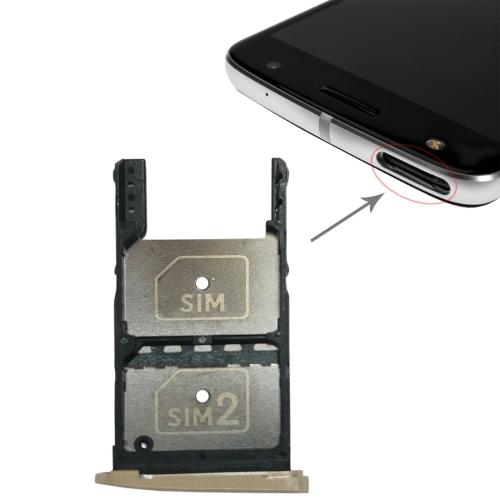 2 SIM Card Tray Micro SD For Motorola Moto Z PlayGold