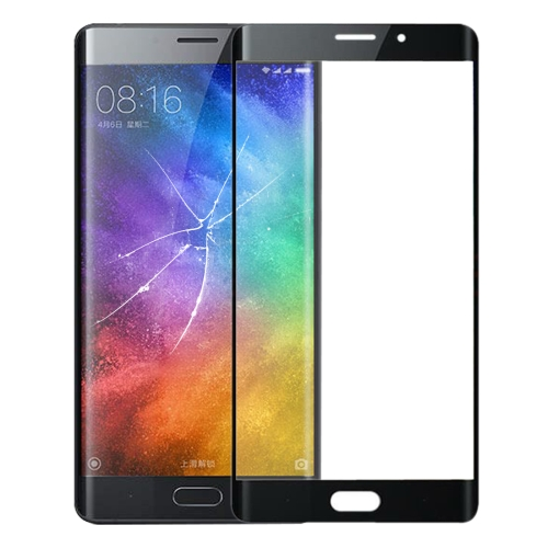 Front Screen Outer Glass Lens for Xiaomi Note 2(Black)