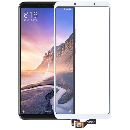 Touch Panel for Xiaomi Mi Max 3(White)