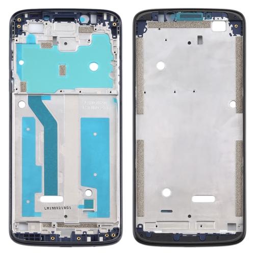 Front Housing LCD Frame Bezel for Motorola Moto G6 Play (Black)