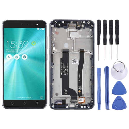 LCD Screen and Digitizer Full Assembly with Frame for Asus ZenFone 3 ZE552KL(Black)