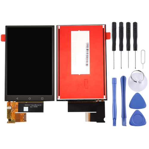 LCD Screen and Digitizer Full Assembly for BlackBerry KEYone / DTEK70 (Black)